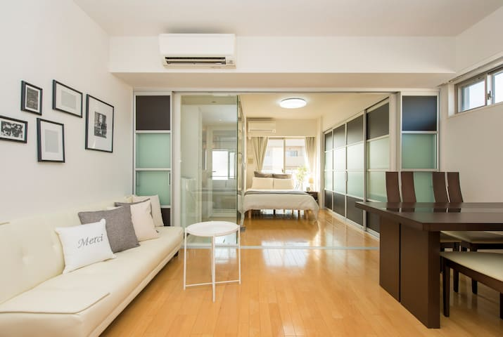 50㎡ Awesome Room!Great Location,Clean,quiet, osaka