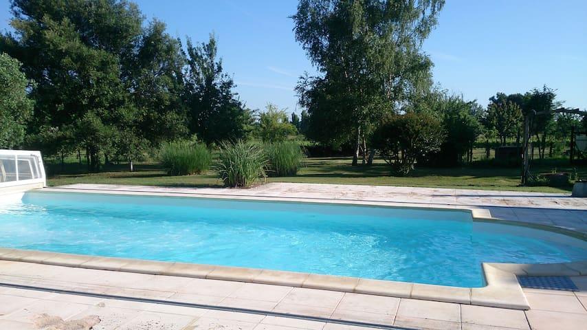Grande maison au coeur du vignoble bordelais - Petit-Palais-et-Cornemps - Hus