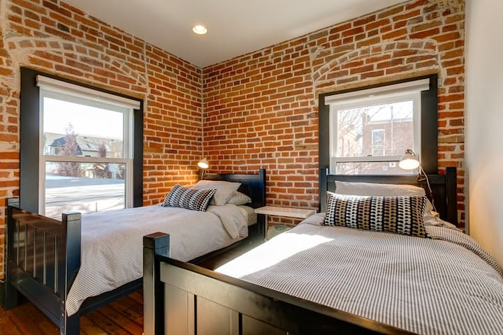 """Very cozy and unique place to stay...Felt like home, place had a real charm to it...My 3 year old daughter kept asking if we could go back to the 'brick house' instead of going home!"""