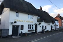 The Crook and Shears - village watering hole  !