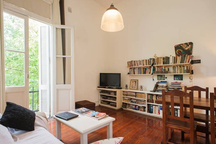 COZY LOFT ROOM IN BEATIFUL GUEST HOUSE, LA BOCA - Buenos Aires - Huis