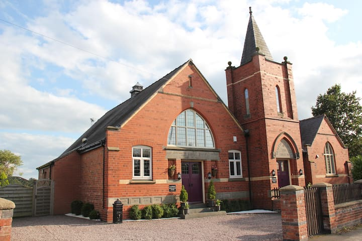 School House in a picturesque Cheshire Village