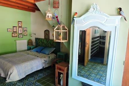 Chambres D'hôtes: 'La Ménagerie' -Duplex familiale - Châteauvieux