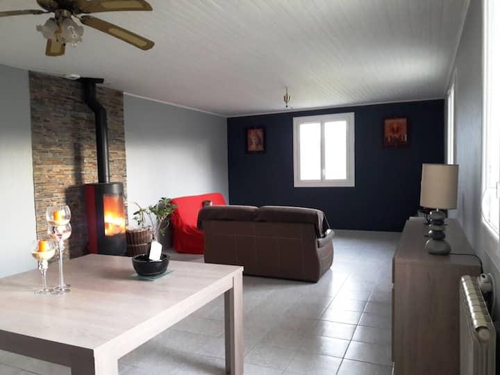 Gramat Rocamadour maison 90m2(4 pers)avec terrasse