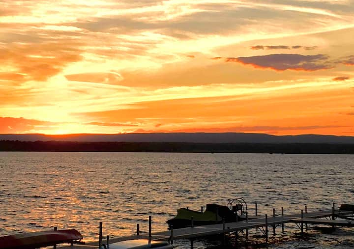 Saratoga Lake Where You Leave Your Troubles Behind