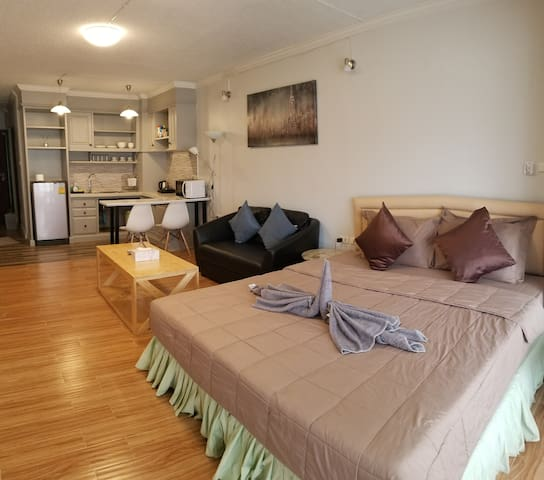 Newly renovated cozy room in convenient location.