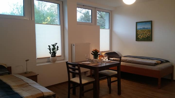 Moderne Appartments 2, je 1-2 Pers. EZ 32€/DZ 55€