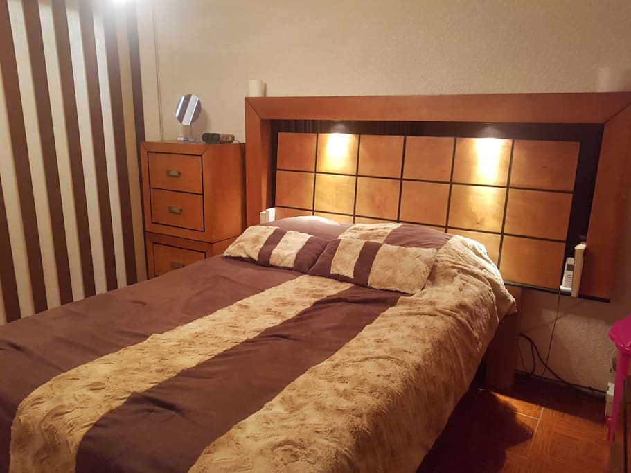 Private Room In Family Apartment Mexico City