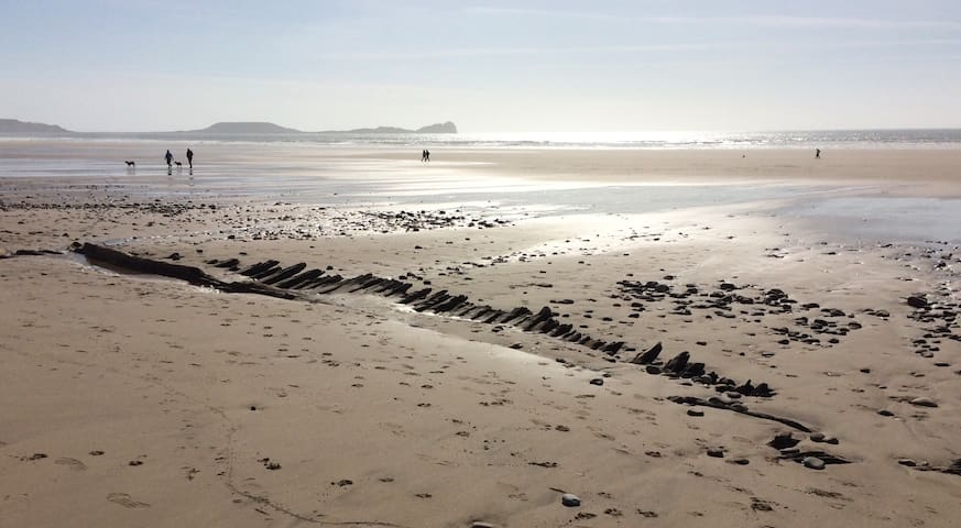 Cleveland Holiday Cottage, Llangennith, Gower