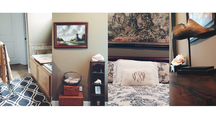 Master Bed & Bath, Abbey Lane House - Oxford - Dům