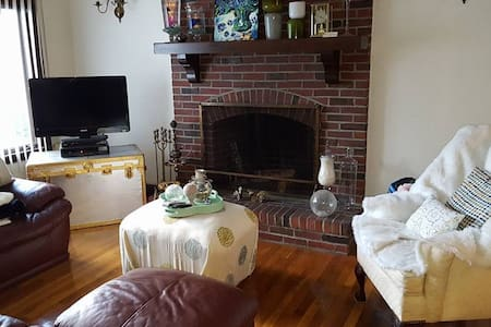 Cosy, Private Bedroom 10 minute walk to Tufts - Medford - Wohnung