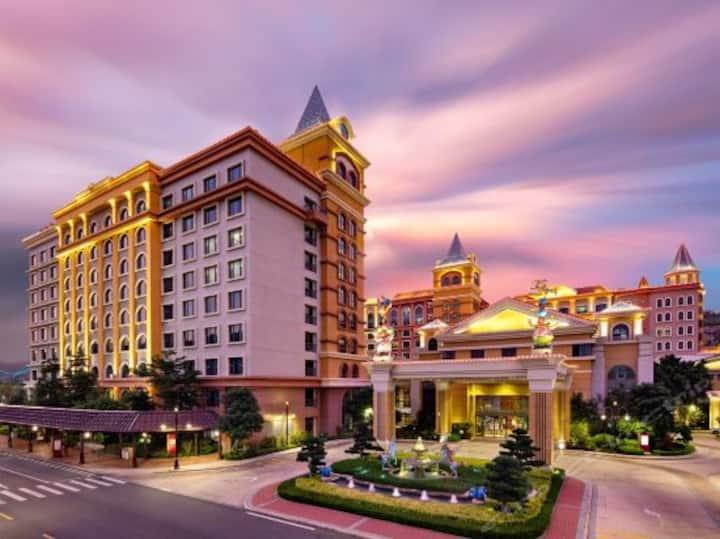 珠海长隆马戏酒店(珠海海洋王国店)--杂技房--珠海最好玩的景区。景区里面的四星酒店