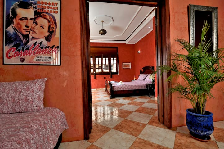Fuschia Bedroom