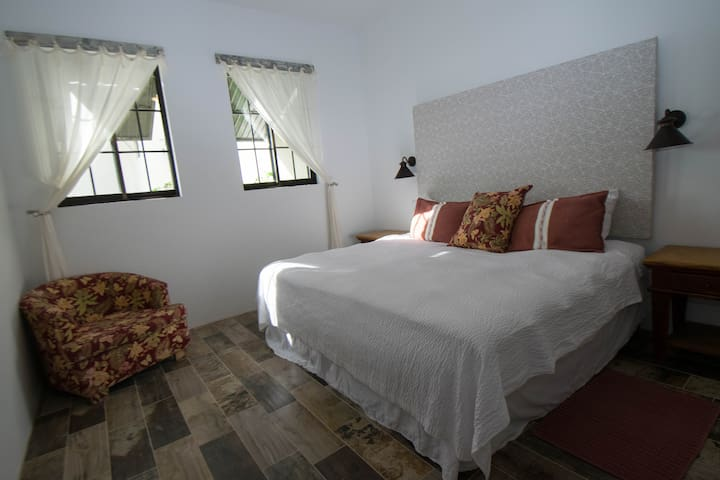 Bedroom two with king bed