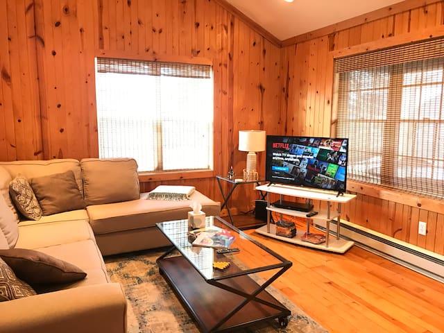 Private & Charming Logansport Home w/ Carport