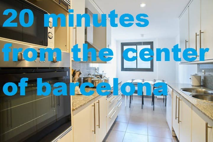 20 minutes from the center of barcelona - Mollet del Vallès, Barcelona - Lägenhet