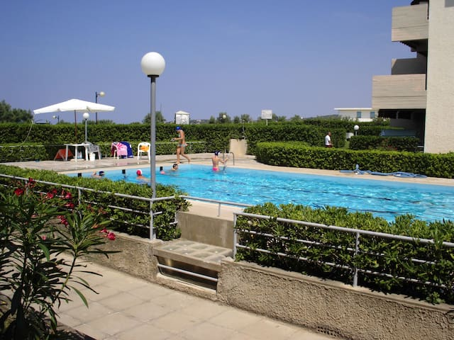 App. la Terrazza, con piscina