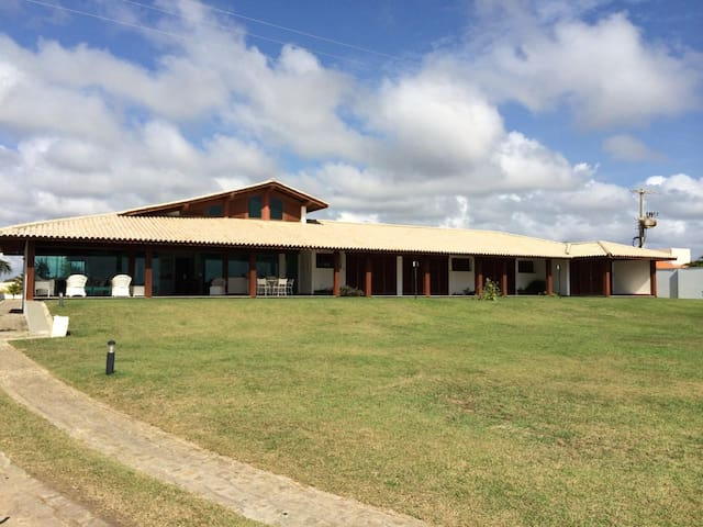 Casa de Praia de Luxo- Praia do Saco- Sergipe