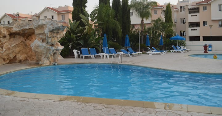 Pyla Village Resort/One bedroom,Ground floor apart