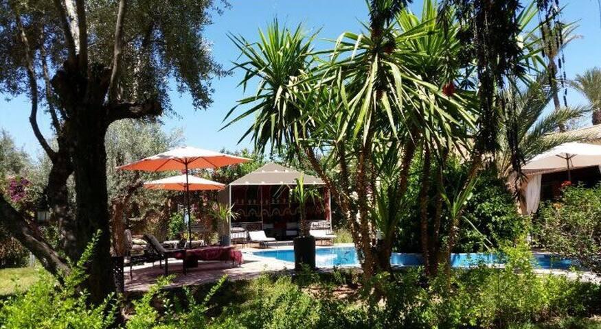 Villa au cœur du palmerie marrakech - Marrakech - Villa
