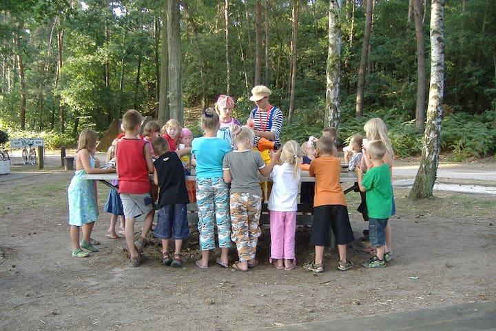 Safaritent op Recreatiepark de Wrange, Nederland