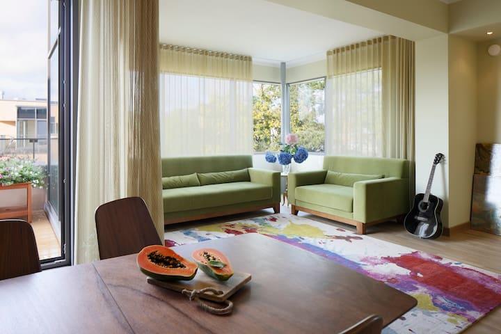 Апартаменты для большой семьи - Saulkrasti - Lägenhet