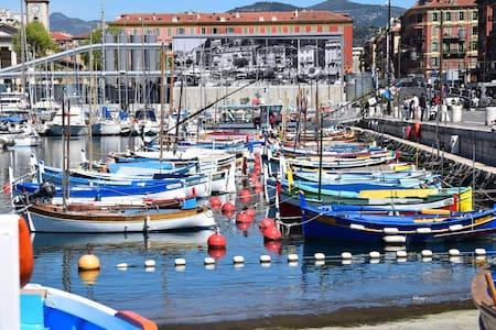 Beau 2 pièces proche port et plages - Nice - Apartment