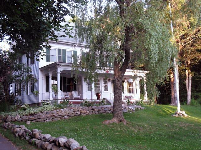 An Elegant Historic Waterview Deer Isle Home
