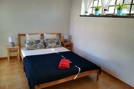 LO Surfcamp Double Bed Room private