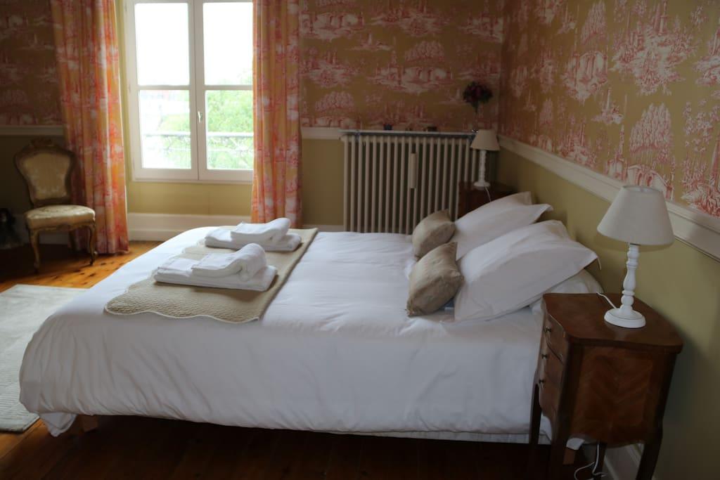 Chambres d 39 h tes vue loire et ch teau d 39 amboise villas for Chambre d hotes amboise