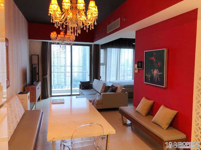 168PROPERTY 01BR Great view /Mineral pools, sauna