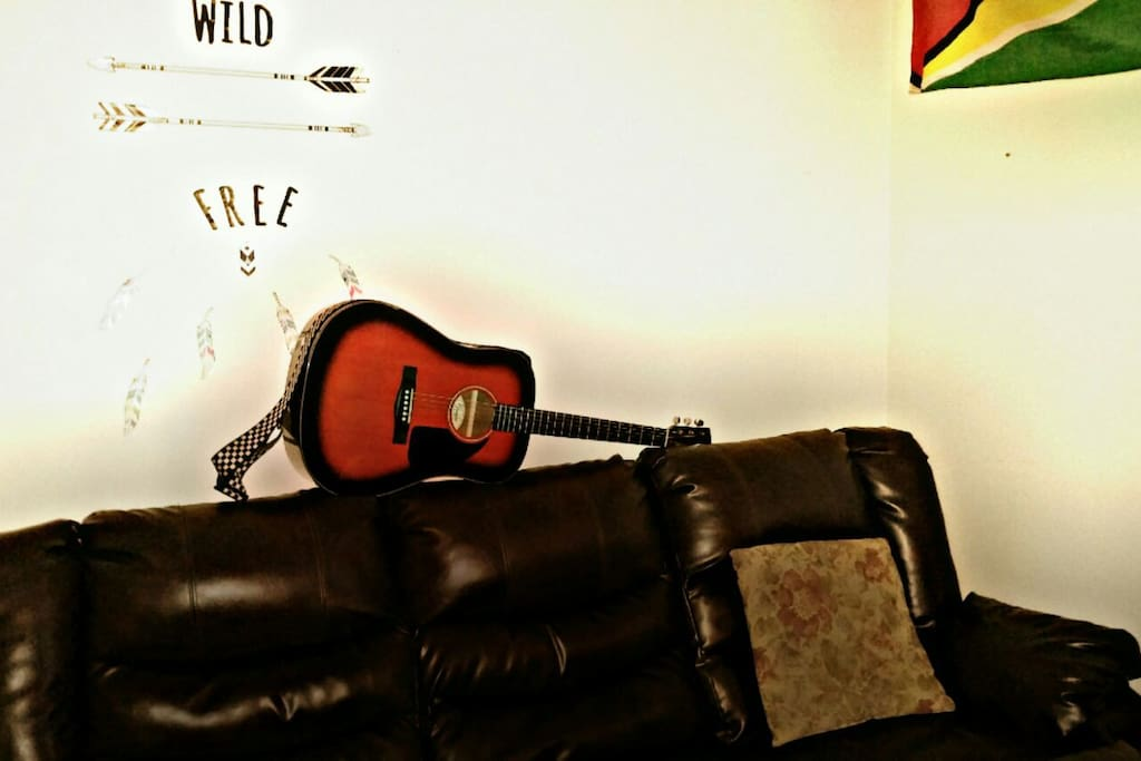 more then welcome to play my guitar for all of my music lover