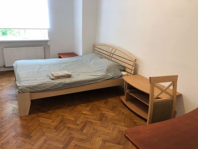 Cozy and warm bedroom on Matisa str