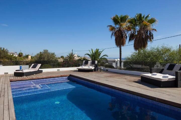 Luxury Pool House nr Ibiza Town - Sant Josep de sa Talaia - Rumah