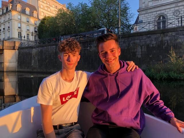 Alexis et Nicolas