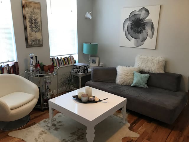 PRIVATE ROOM- Cozy Chicago 2 Bedroom Apartment. ❤️