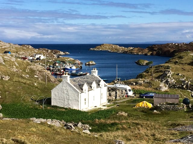 The Crofthouse Isle of Harris - Stockinish - Dům