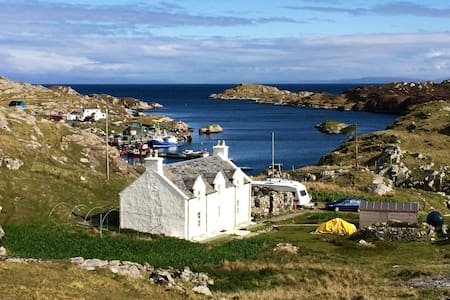 The Crofthouse Isle of Harris - Stockinish - Hus