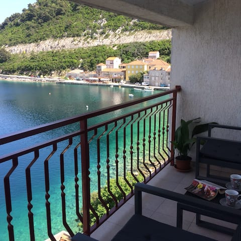 App with magnificent sea view Mljet