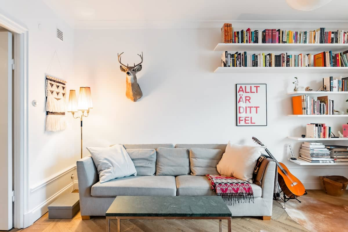 Trendy, Elegant and Spacious 1920s Apartment in Södermalm