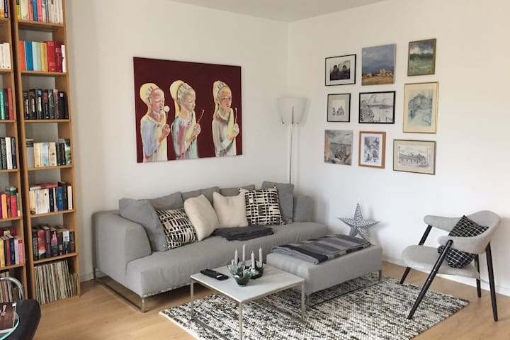 Wohnen, Erholen, Arbeiten in Zehlendorf Mitte 78qm - Berlijn - Appartement