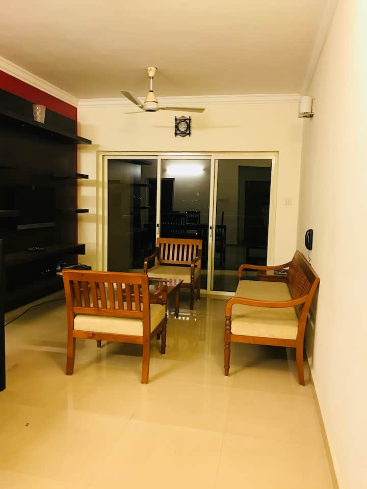 Premium cosy water front apartment in Aluva town