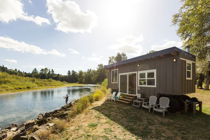 Tiny River House on Clackamas River - Damascus - Cabana