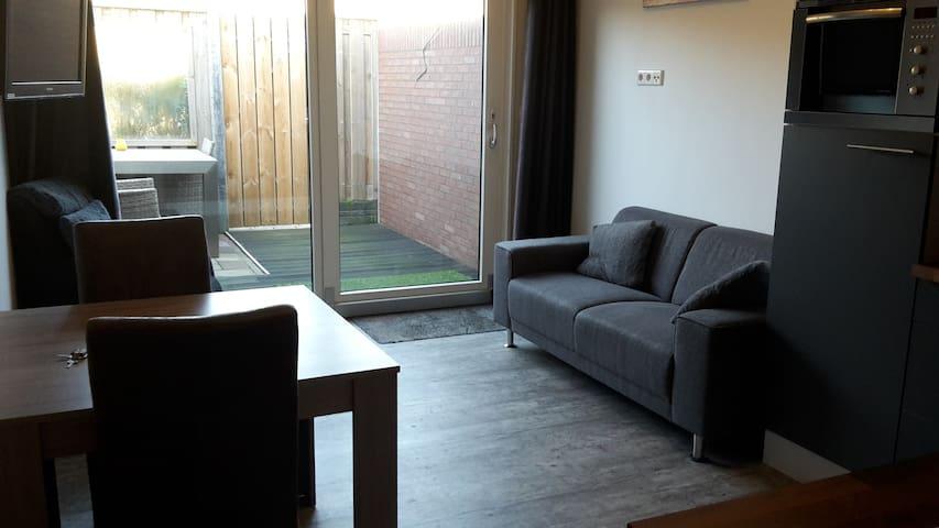 woonkamer met uitzicht