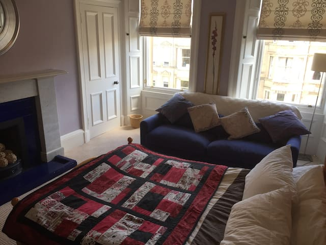 Central double room! - Edinburgh - Apartment