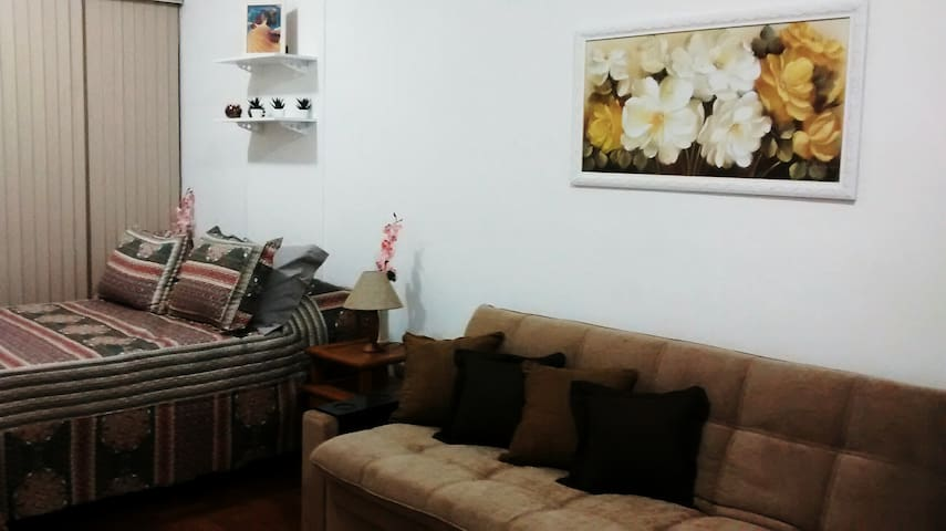 Apartment 100 mts from the beach of Copacabana!