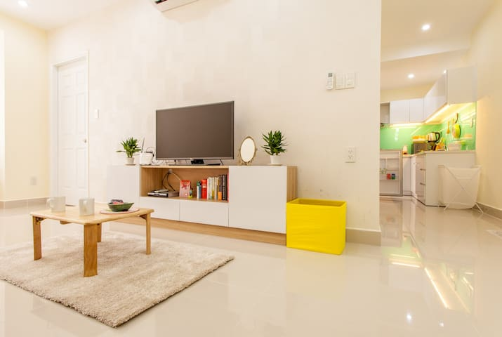 3) New, Clean 2-br APT @Phu My Hung - Ho Chi Minh City - Ortak mülk