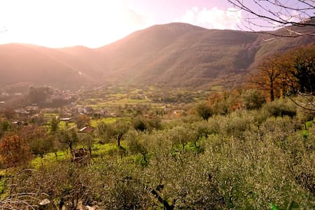 """""""The willow house"""" A paradise in the mountains - Sant'Ambrogio sul Garigliano - 别墅"""