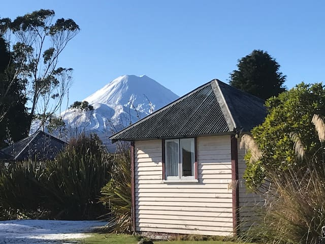 Camping Hut,  Just a bed in Tongariro