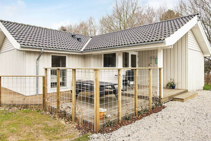 Lovely Holiday Home in Glesborg Jutland with Sauna